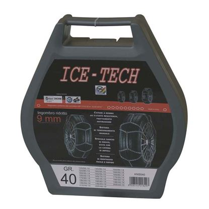 Immagine di CATENE NEVE 9 mm GR  80 ICE TECH