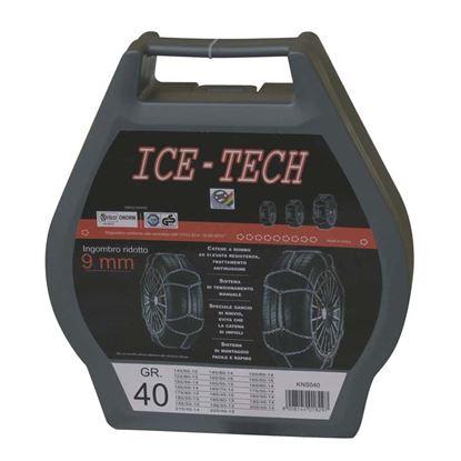 Immagine di CATENE NEVE 9 mm GR  90 ICE TECH