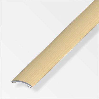 Immagine di Profilo per raccordo, 1,0 mt, 37x2,5 mm, rovere