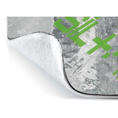Immagine di Materassino acustico, Sil Aesse 2200, fonoisolante, con guaina bituminosa, densità 30/50 kg/m³, spessore 6 mm