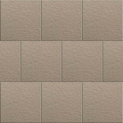 Immagine di Pavimento, Roccia, gres porcellanato, strutturato, da esterno, confezione da 1,21 mq, 30,5x30,5 cm, colore silver
