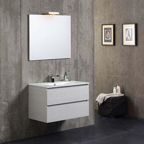 composizione mobile bagno matilde 80 cm 2 cassetti