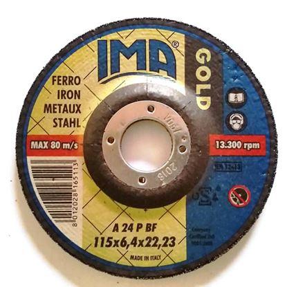 Immagine di Disco da sbavo per ferro, Ø125x6,4 mm