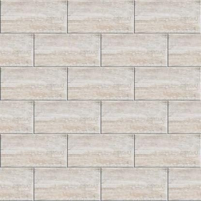 Immagine di Rivestimento  Tundra 26x52 cm, bicottura, confezione 2,18 m², colore grigio