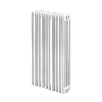 Immagine di Radiatore acciaio Warm Basic tubolare, interasse 813 mm 4 colonne di profondità 7 elementi, 800 W, colore bianco ral 9010