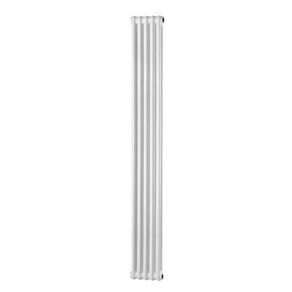 Immagine di Radiatore acciaio Warm Plus tubolare, interasse 1735 mm 2 colonne di profondità 4 elementi, 498 W, colore bianco ral 9010