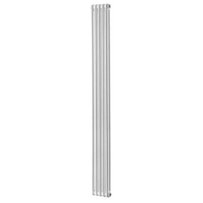 Immagine di Radiatore acciaio Warm Plus tubolare, interasse 1935 mm 2 colonne di profondità 5 elementi, 693 W, colore bianco ral 9010