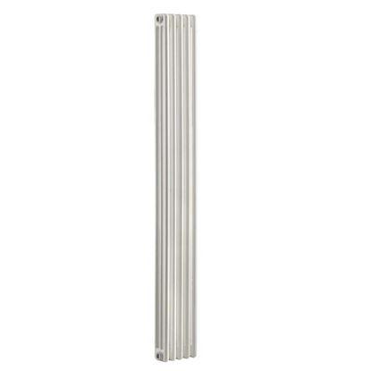Immagine di Radiatore acciaio Warm Plus tubolare, interasse 1735 mm 3 colonne di profondità 4 elementi, 671 W, colore bianco ral 9010