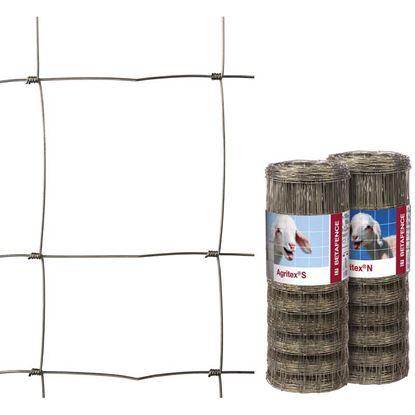 Immagine di Rete zincata a maglia annodata, rotolo 50 mt,maglia 8x30 cm , h 100 cm