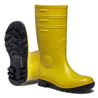 Immagine di Stivale ginocchio, Gorex, classe di protezione S5-SRC,soletta e puntale in acciaio, colore giallo, misura 44