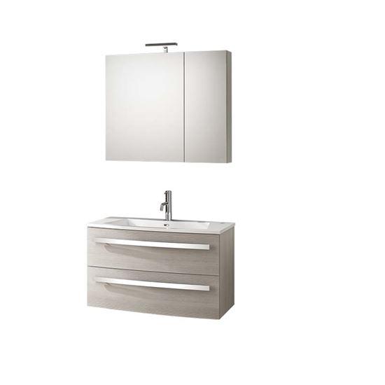 Base sospesa oscar, porta lavabo, 2 cassettoni, 84,5x44xh50 cm, colore ...