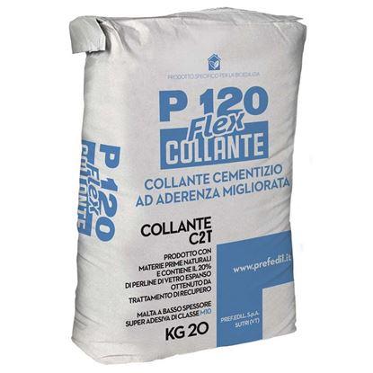 Immagine di COLLANTE P120, base di cemento grigio, per la posa dei pannelli BRIK