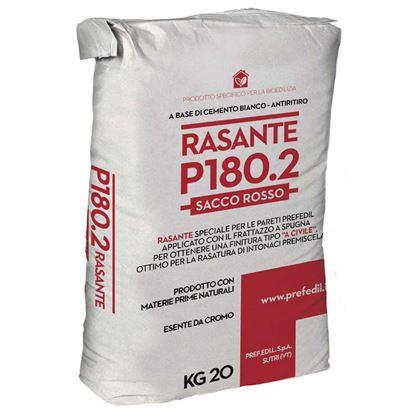 Immagine di RASANTE P180.2, a base di cemento bianco, per le finiture delle pareti, sacco da 20 kg