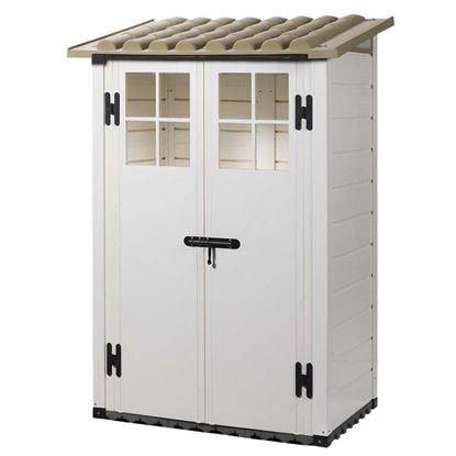 Casette da giardino ottimax for Perline legno obi