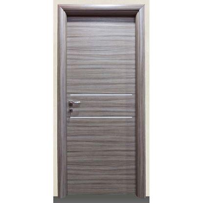 Immagine di Porta loredana scracht grigio batt., revers., 78x214 cm, telaio piatto, acc. crs