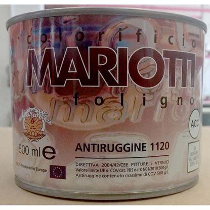 Immagine di Antiruggine sintetica, 0,5 lt, colore rosso