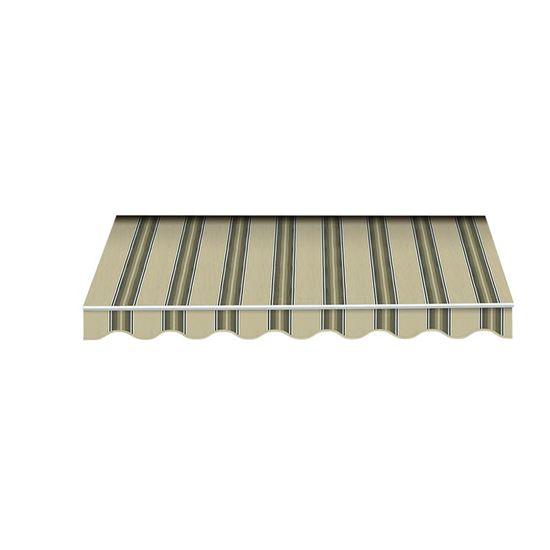 Tenda da sole itaca tessuto in poliestere 280 gr m 2x3 for Tende beige e marrone