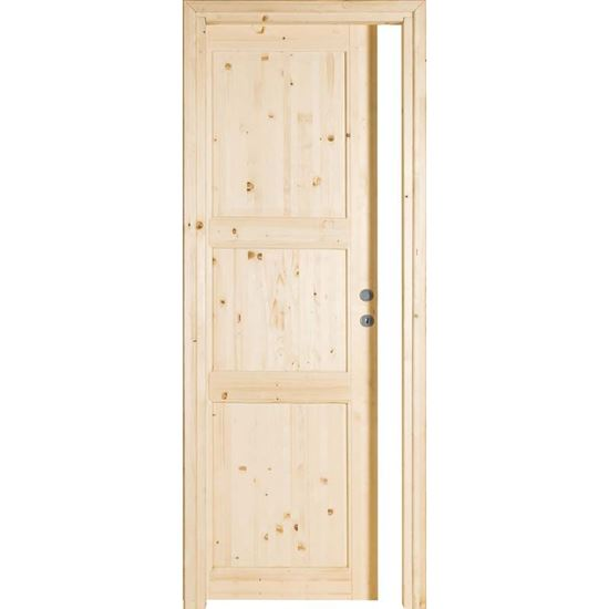 Porta da interno scorrevole, in abete