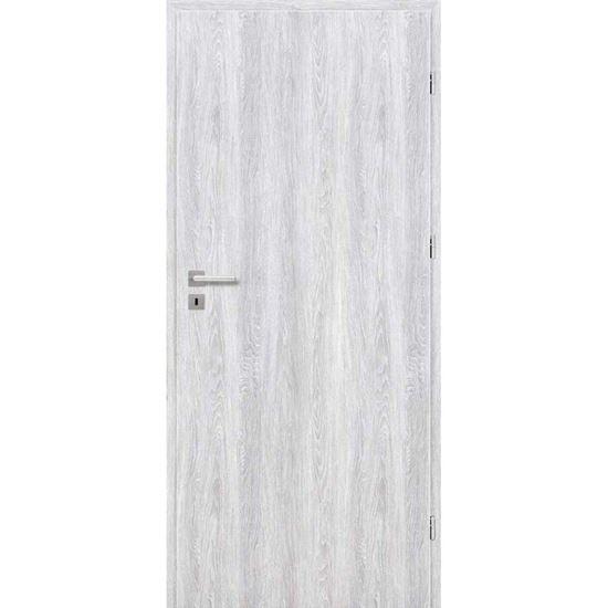 Immagine di Porta da interno reversibile, colore grigio chiaro, 70x210 cm