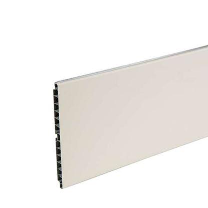 Immagine di Zoccolo cucina, bianco, 150x3000 mm
