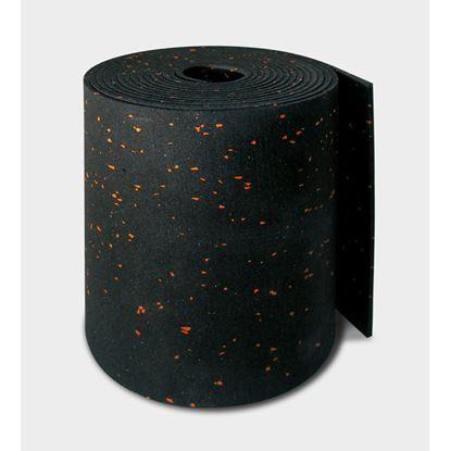 Immagine di Banda tagliamuro Isolband Ae 200, con mescole elastomerici, naturali e sintetici, densità 750 kg/m³, spessore 4 mm