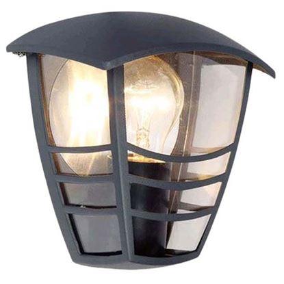 Immagine di Mezza lanterna, E27, grigio grafite