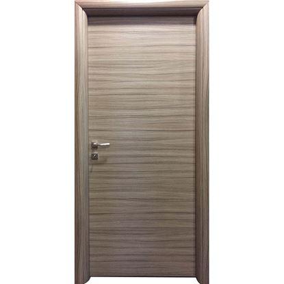 Immagine di Porta greta scracht grigio batt., revers., 78x214 cm, telaio piatto, acc. crs