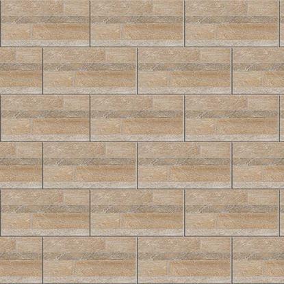 Immagine di Pavimento Modulare 30,2x60,4 cm, gres porcellanato, spessore 8 mm, confezione da 1,68 m², multicolor