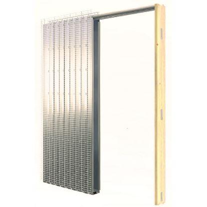 Immagine di Controtelaio porta a scomparsa, parete cartongesso, 60x210 cm