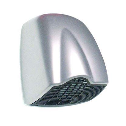 Immagine di Asciugamani a fotocellula Qibli, marcatura CE, cover in ABS satinato, potenza totale 1850 W, potenza resistenza 1785 W