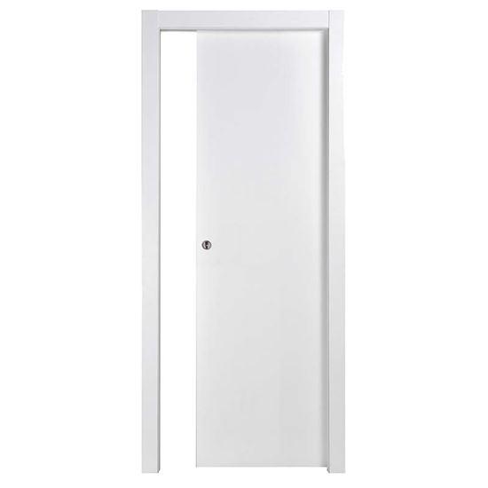 Porta tatiana reversibile scorrevole bianca 70x210 cm - Porta scorrevole bianca prezzo ...