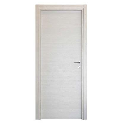 Immagine di Porta Agata reversibile color acero neve, battente, 70x210 cm