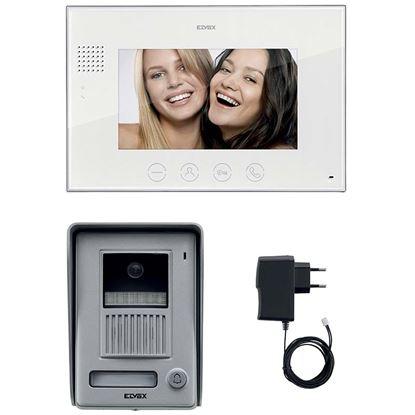Immagine di Kit Videocitofonico Elvox 7in vivavoce - Vimar