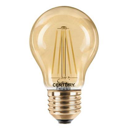 Immagine di Lampada LED filamento goccia Incanto epoca, 8W, E27, luce calda