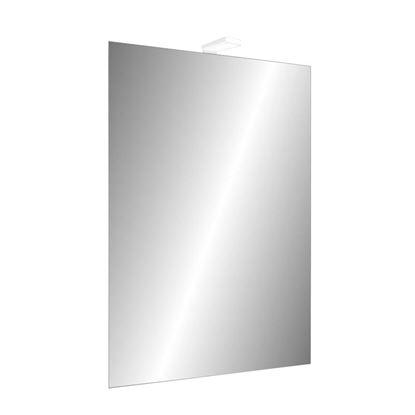 Immagine di Specchio Innovo 80x60 cm, filo lucido, orizzontale/verticale, con lampada LED IP44 3W