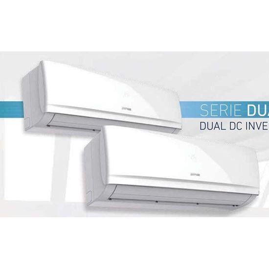 Immagine di Condizionatore Dual Zhephir 9000+9000 BTU,  classe A++/A+, R410A