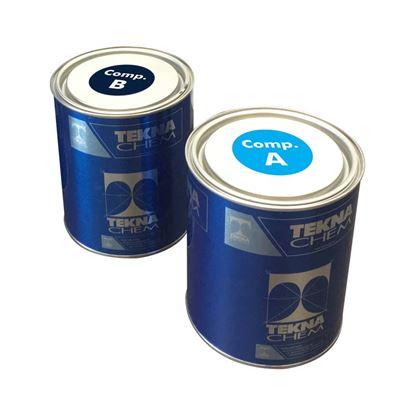 Immagine di Adesivo epossidico, Epotek fix, bicomponente a base di resine epossidiche, elevata adesione, latta 1 kg