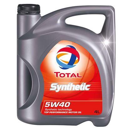Immagine di Olio Total synthetic 5w40, 4 lt