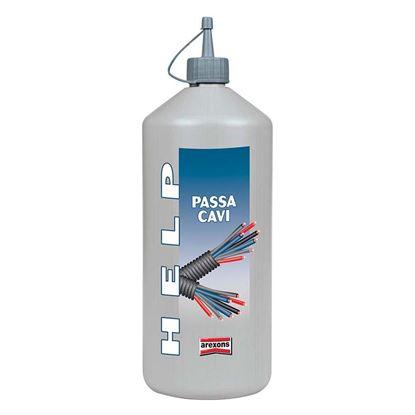Immagine di  Passacavi Help, scivolante per cavi elettrici, 1000 ml