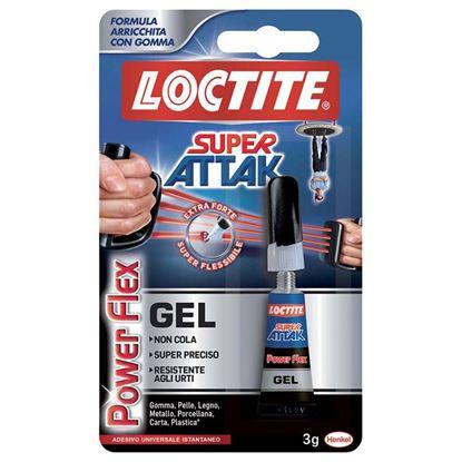 Immagine di Loctite super attak power flex, 3 gr