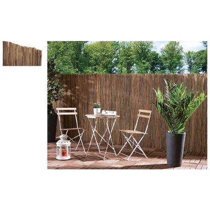 Immagine di Arella in canna di bamboo d.8-10mm legate con filo metallico 2x3 mt