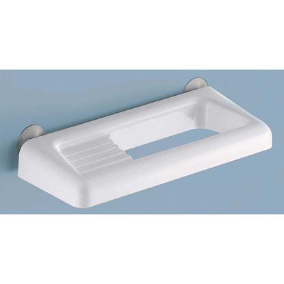 Immagine di Porta sapone e porta salviette, Junior, colore bianco