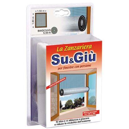 Immagine di Zanzariera su e giù, per finestra, colore nero, 150x180 cm