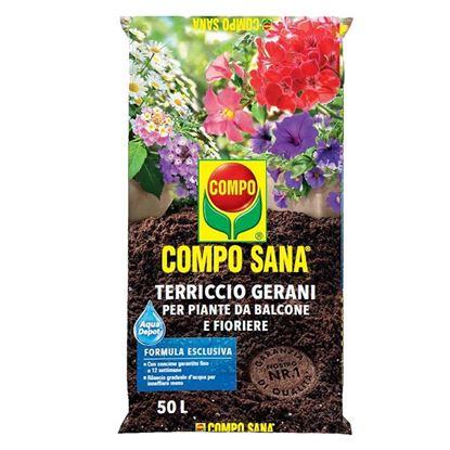Immagine di COMPO TERRICCIO GERANI, 50 LT