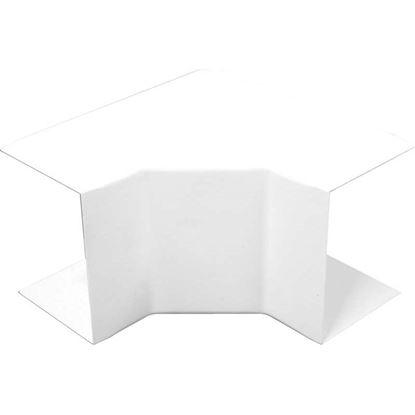 Immagine di Angolo interno, colore bianco, 60x40 mm