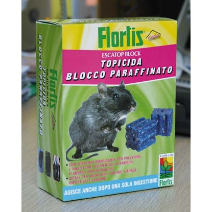 Immagine di TOPICIDA BLOCK PARAFFINA, 0,500 KG