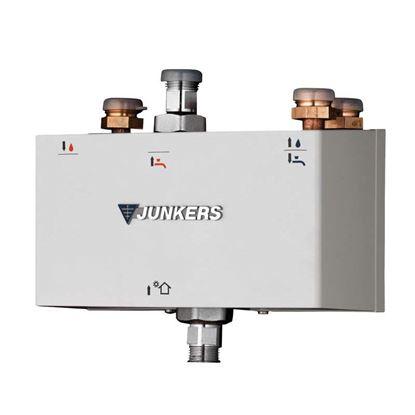 Immagine di Kit idraulico ottimizzatore Junkers, interponibile tra sistema solare termico per ACS e caldaia/scaldabagno