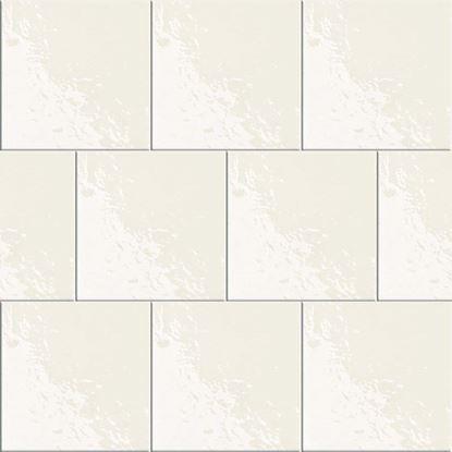 Immagine di Rivestimento Bianco lucido, bicottura, confezione da 1,60 m², 20x20 cm, colore bianco