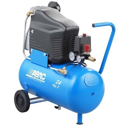Immagine di Compressore abac p/position l20 lubr.24lt 10bar 2hp