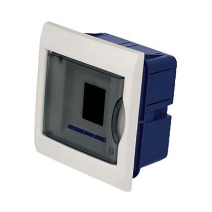 Immagine di Centralino Incasso sportello trasparente, IP40, 4 moduli